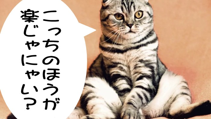 楽じゃにゃい?・猫